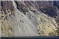 NY1605 : Path across The Screes, Wast Water by Rob Noble