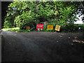SU8377 : Footpath closed by Alan Hunt