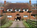 SK6206 : Manor Farm archway by Andrew Tatlow