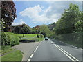 SX1665 : The A38 near Drawbridge by Ian S