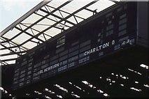 TQ1985 : Wembley stadium: the old stadium scoreboard by Christopher Hilton
