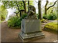 NS4663 : Memorial to James Fillans by Lairich Rig