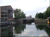 TQ3783 : Old Ford Lock, near Bow by Malc McDonald