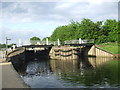 TQ3590 : Stonebridge Locks, near Tottenham by Malc McDonald