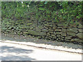 SK4637 : Retaining wall on Quarry Hill by Alan Murray-Rust