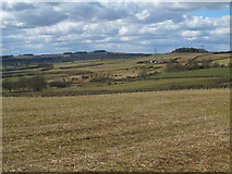 NZ0267 : Farmland southeast of Carr Houses by Mike Quinn