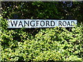 TM4778 : Wangford Road sign by Adrian Cable