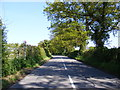 TM4778 : B1126 Wangford Road & Wood Lane Byway by Adrian Cable