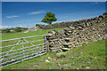 SD3880 : Stile and Gate near Field Broughton by Tom Richardson