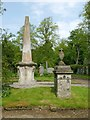 NS4763 : Martyrs' Monument, Woodside Cemetery by Lairich Rig