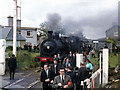 Q9029 : Steam train at Lixnaw by The Carlisle Kid