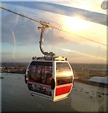 TQ3980 : Emirates Airline cable car, East London by Claire MacNeill