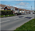 SO1601 : Pantycefn Road bungalows, Markham by Jaggery