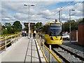 SJ8590 : East Didsbury Tram Station by Gerald England