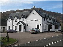 NM7682 : Lochailort Inn at Lochailort by M J Richardson