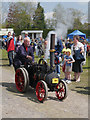 SD6342 : Miniature Steam Engine Rose at Chipping Steam Fair by David Dixon