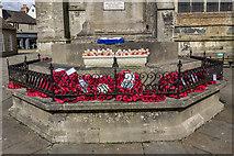 SP0202 : War Memorial, Cirencester, Gloucestershire by Christine Matthews