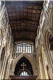 SP0202 : Roof of St John the Baptist, Cirencester, Gloucestershire by Christine Matthews