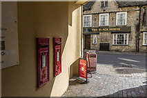 SP0202 : Elizabeth II Wall Postboxes, Cirencester, Gloucestershire by Christine Matthews