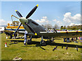 SD6342 : Replica Spitfire at the Chipping Steam Fair by David Dixon