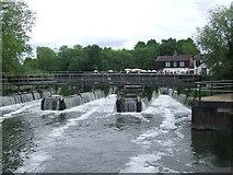 TL3808 : Dobb's Weir, River Lea near Hoddesdon by Malc McDonald