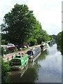 TL3808 : River Lee Navigation near Hoddesdon by Malc McDonald