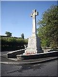 NX0054 : War Memorial, Portpatrick by Stanley Howe