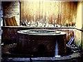 SN8746 : Derelict Dol-y-Coed spa well at Llanwrytyd Wells by Richard Green