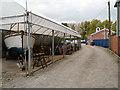 SJ9398 : Portland Basin Marina Dry Dock by David Dixon