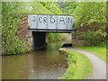 SJ9397 : Peak Forest Canal, Bridge#2 by David Dixon