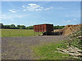 SU8973 : Metal tank by Alan Hunt