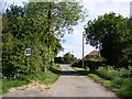 TM3585 : Shoe Devil Lane, Ilketshall St.Margaret by Adrian Cable