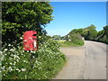 SW6229 : Postbox beside the road at Pulldown by Rod Allday