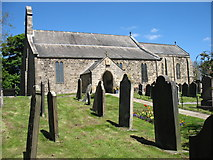 NZ1366 : St Andrew's church, Heddon-on-the-Wall by David Purchase