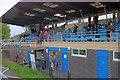 NZ5019 : Last Open Athletics Meeting, Clairville Stadium by Mick Garratt