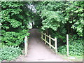 TL3703 : Path in the Lee Valley Park near Waltham Abbey by Malc McDonald