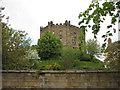 NZ2742 : Octagonal castle keep, Durham by Pauline E