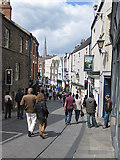 NZ2742 : Saddler Street, Durham by Pauline E