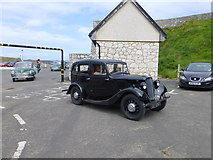 D0345 : Old car at Ballintoy by Kenneth  Allen