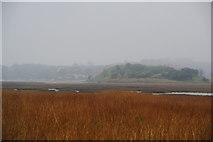 NU2409 : Church hill on a wet day by Bill Boaden