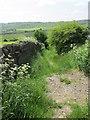 SE0833 : Footpath - Hill Top Road by Betty Longbottom