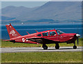 NM9035 : G-AXWZ about to depart from Oban Airport by The Carlisle Kid