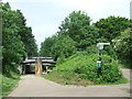 TQ3586 : Path at Lea Bridge by Malc McDonald
