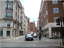 TQ2879 : View down Palace Street from Buckingham Palace Road by Robert Lamb