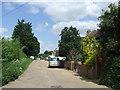 TQ0484 : Knighton Way Lane, New Denham by Malc McDonald