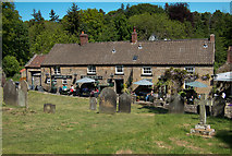 SE7290 : The Blacksmiths Arms at Lastingham by Colin Grice