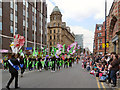 SJ8397 : Deansgate on Manchester Day 2013 by David Dixon