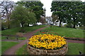 NU1913 : Colourful display in the Tenantry Column gardens by Bill Boaden