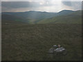 NY7100 : Tiny cairn, Little Harter Fell by Karl and Ali