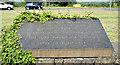 J3775 : Opening plaque, the Sydenham bypass, Belfast by Albert Bridge